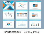 set of vector templates for... | Shutterstock .eps vector #334171919
