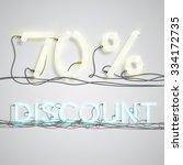 'discount'  illustration  vector | Shutterstock .eps vector #334172735