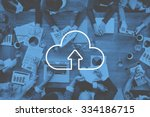 Cloud Computing Storage Internet Transfer - Fine Art prints