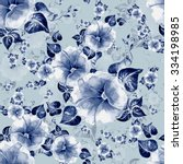 watercolor seamless pattern... | Shutterstock . vector #334198985