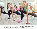fitness  sport  training  gym... | Shutterstock . vector #334202015