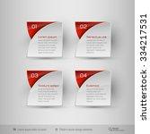 business infographics template... | Shutterstock .eps vector #334217531