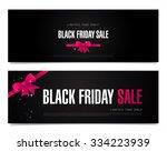 black friday sale. | Shutterstock .eps vector #334223939