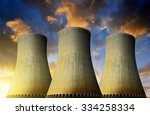 Nuclear Power Plant  In The...
