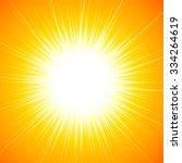 beautiful abstract starburst... | Shutterstock . vector #334264619
