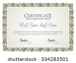 certificate. award background.... | Shutterstock .eps vector #334283501