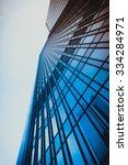office buildings. modern glass... | Shutterstock . vector #334284971