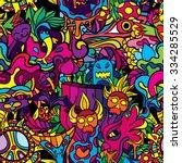 60s Hippie Psychedelic Art...