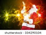 Santa Playing Electric Guitar...