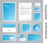 corporate identity medical... | Shutterstock .eps vector #334295741