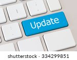 update button on keyboard | Shutterstock . vector #334299851