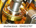 metalworking industry. tooth... | Shutterstock . vector #334311707