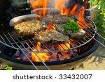 barbecue | Shutterstock . vector #33432007
