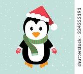 penguin | Shutterstock .eps vector #334323191
