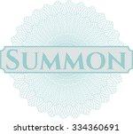 summon linear rosette | Shutterstock .eps vector #334360691