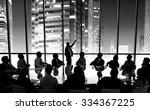 business people meeting... | Shutterstock . vector #334367225