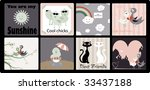 background collection | Shutterstock . vector #33437188