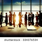 business people communication... | Shutterstock . vector #334376534