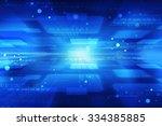 sci fi futuristic user interface | Shutterstock . vector #334385885
