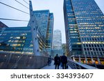 business office building in... | Shutterstock . vector #334393607