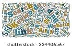 seo keywords tag cloud   ...   Shutterstock .eps vector #334406567