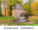 Old Water Mill In The Dutch...