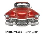 classic american car from the... | Shutterstock . vector #33442384