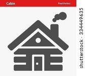 cabin icon. professional  pixel ... | Shutterstock .eps vector #334449635