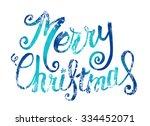 Vector Merry Christmas Card...