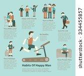 illustration character set of... | Shutterstock .eps vector #334455857