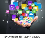 network. | Shutterstock . vector #334465307