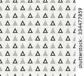 geometric line monochrome... | Shutterstock .eps vector #334477859