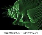 modern abstract digital waves  | Shutterstock . vector #334494764