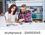 training with design mentor.... | Shutterstock . vector #334503545