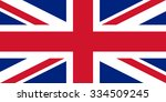 flag of the united kingdom of... | Shutterstock .eps vector #334509245