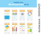 mobile wireframe app ui kit 33. ...