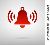ringing bell icon | Shutterstock .eps vector #334572305
