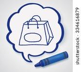 doodle bag   Shutterstock .eps vector #334616879