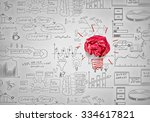 inspiration concept with... | Shutterstock . vector #334617821