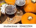 Craft Pumpkin Beer In Beer...