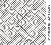 seamless abstract pattern | Shutterstock .eps vector #334636391