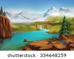 Landscape  Nature Vector...