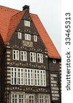 historical facade at the market ... | Shutterstock . vector #33465313