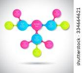 vector infographics metaball...