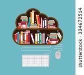 Online Bookstore Design  Vecto...