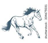 horse | Shutterstock .eps vector #334675031