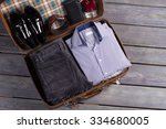 a set of stylish men's clothing ... | Shutterstock . vector #334680005
