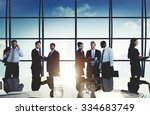 business people corporate team... | Shutterstock . vector #334683749