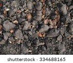 dug over chestnut soil in...   Shutterstock . vector #334688165