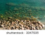 limpid water of the... | Shutterstock . vector #3347035